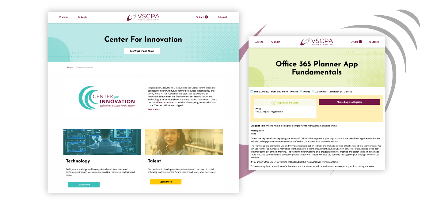 VSCPA Inner Page Case Study