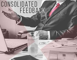 The Art of Consolidated Feedback