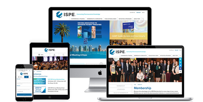 International Society of Pharmaceutical Engineering | ISPE Drupal 8 Case Study 2