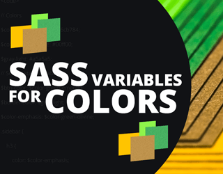 SASS Variables for Colors