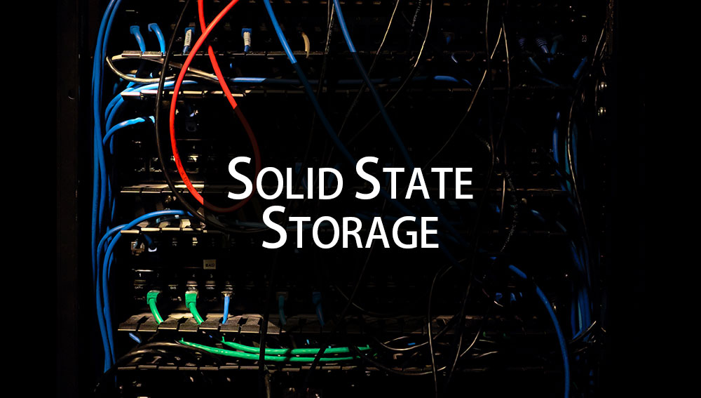 Benefits of Hosting Your Website on Solid State Storage