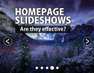 It's Time to Ditch Your Homepage Slideshow