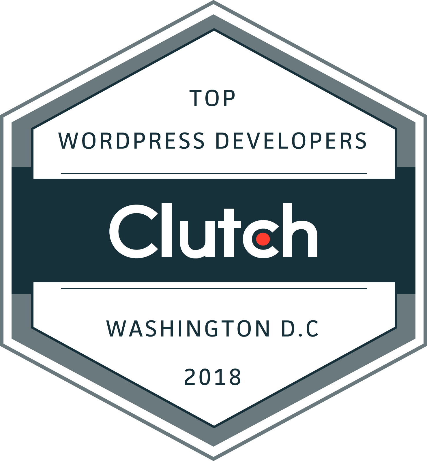 Clutch WordPress Developers 2018