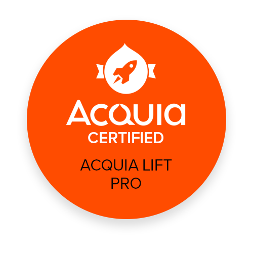 Acquia Lift Certified