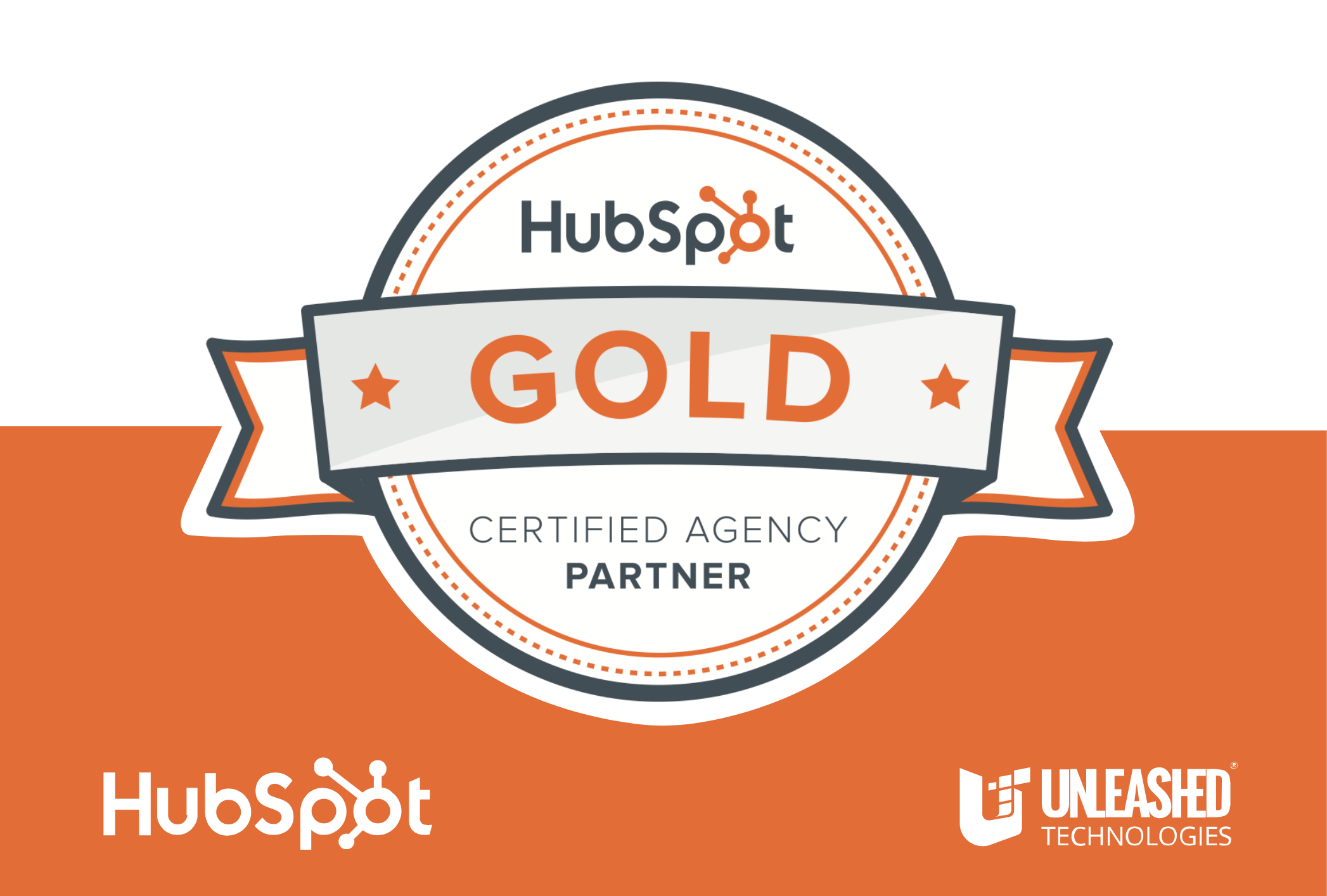 HubSpot Certified Gold Agency Partner - Partner badge