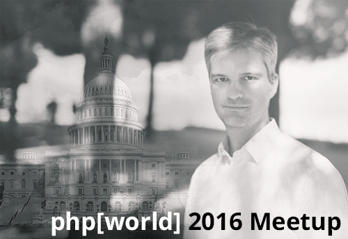 Fabien Potencier will Host DC PHP Meetup During php[world]