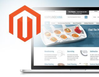 Magento website modifications image.
