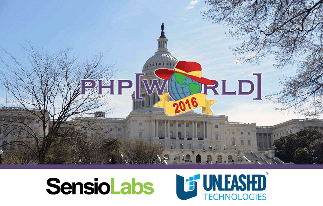 Unleashed Technologies Exhibits with SensioLabs at php[world] 2016