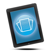 Publications icon on an iPad.