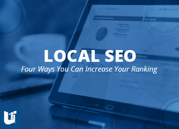 Local SEO, four ways you can increase your rankings webinar image