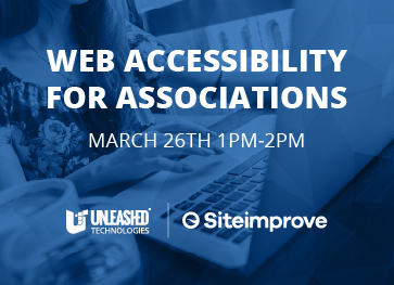 Web accessibility for associations | Unleashed Technologies