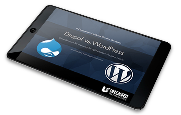 Drupal vs. WordPress eBook thumbnail