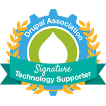 Signature Technology Supporter Badge