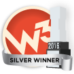 W3 Awards Silver Winner 2016